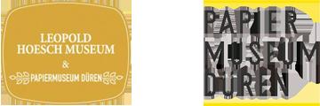 Leopold Hoesch Museum Papiermuseum Dueren ArtJunk Kunst Logo