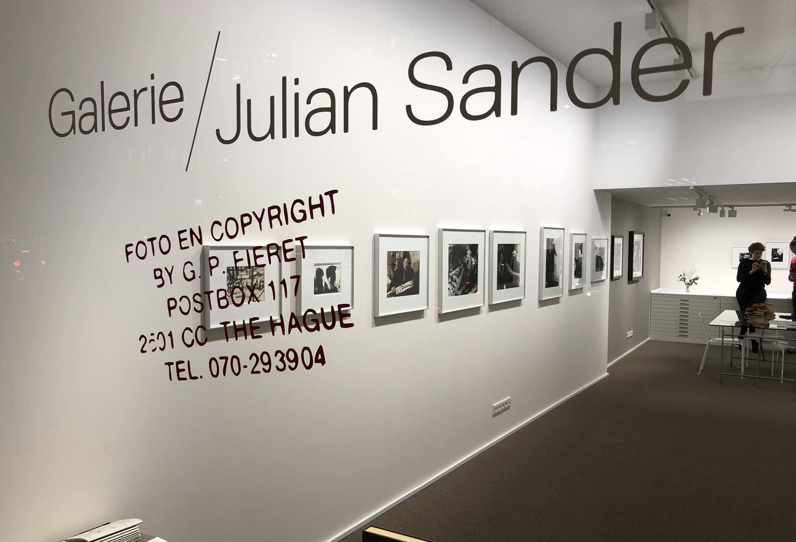 Galerie Julian Sander Köln Kunst Fotografie ArtJunk