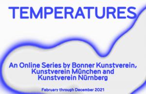 Bonner Kunstverein Temperatures ArtJunk