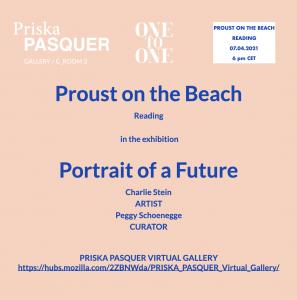 Priska Pasquer Charlie Stein Peggy Schoenegge Proust ArtJunk