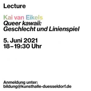 Kunsthalle Düsseldorf Queer Kawaii ArtJunk