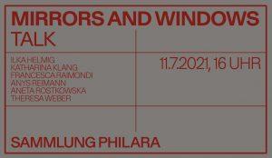 Sammlung Philara Mirrors and Windows Talk ArtJunk