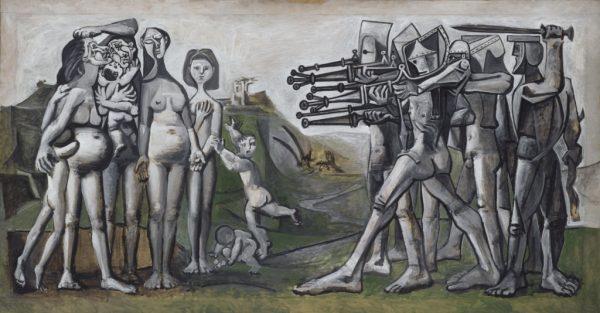 Museum Ludwig Pablo Picasso Massacre in Korea ArtJunk