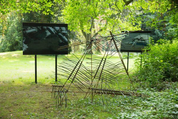 Lantz'scher Skulpturenpark Out here in the wild Sami Schlichting ArtJunk