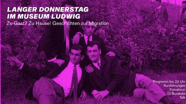 Museum Ludwig Langer Donnerstag Vor Ort Migration ArtJunk
