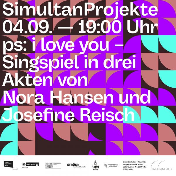 Simultanhalle Raum für zeitgenössische Kunst Köln SimultanProjekte Nora Hansen Josefine Reisch ArtJunk